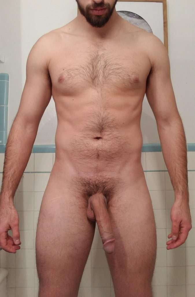 Sexy daddy with big long dick
